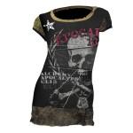T-shirt Alchemy - Unto Death - Femme