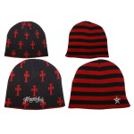 Bonnet Miami Ink - Reversible/Red Cross
