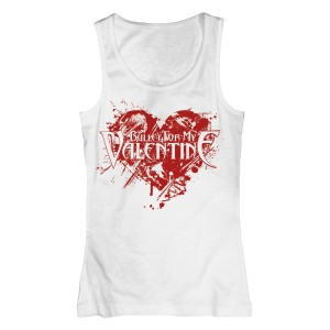 T-shirt Bullet For My Valentine - Top Heart Splatter - Femme