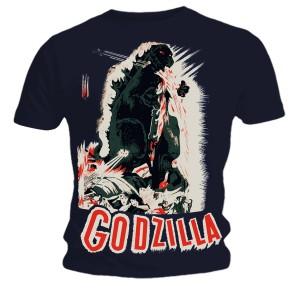 T-shirt Godzilla - Poster