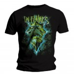 T-shirt In Flames - Glowing Jester Mint