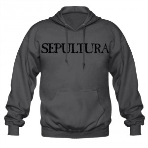 Sweat à Capuche Sepultura - Logo Grey