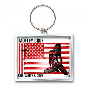 Porte-clé Motley Crue - Red, White and Crue