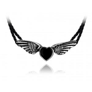 Pendentif Alchemy - Coeur Noir