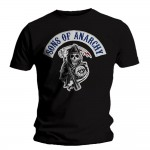 T-shirt Sons Of Anarchy - Patch