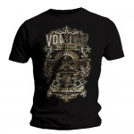 T-shirt Volbeat - Old Letters
