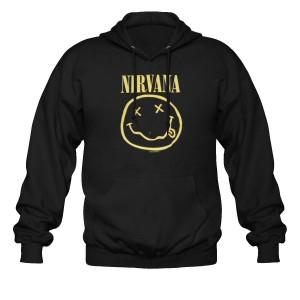 Sweat à Capuche Nirvana - Smiley