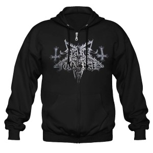 Sweat Zippé Dark Funeral - Logo