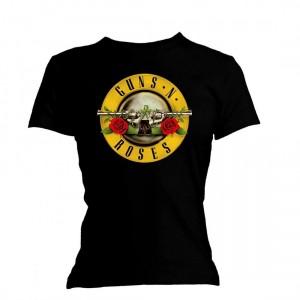 T-shirt Guns N' Roses - Logo - Femme