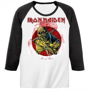 T-shirt Raglan Iron Maiden - Piece of Mind
