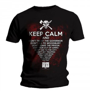 T-shirt The Walking Dead - Keep Calm
