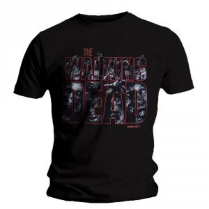 T-shirt The Walking Dead - Zombie Logo