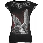 T-shirt Spiral - Tears Of An Angel - Femme