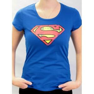 T-shirt Superman - Logo - Femme