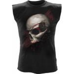 T-shirt Sans Manche Spiral - Skull Shock