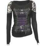 T-shirt Manches Longues Spiral - Waisted Corset - Femme