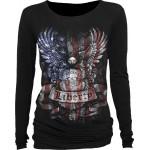 T-shirt Manches Longues Spiral - Liberty USA - Femme