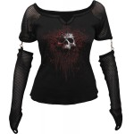 T-shirt Manches Longues Spiral - Death Blood - Femme