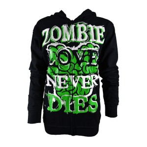 Sweat Zippé Cupcake Cult - Love To Die - Femme