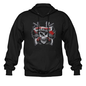 Sweat à Capuche Guns N' Roses - Distressed Skull