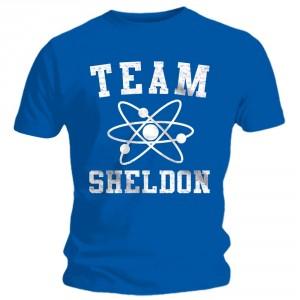 T-shirt The Big Bang Theory - Team Sheldon