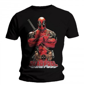 T-shirt Deadpool - Front Pose