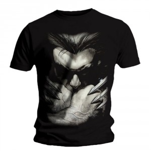 T-shirt Wolverine - Ready to Fight Back