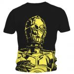 T-shirt Star Wars - Big C3PO