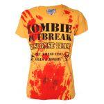 T-shirt Darkside - Zombie Response - Femme