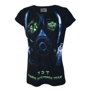 T-shirt Darkside - Zombie Face Mask - Femme