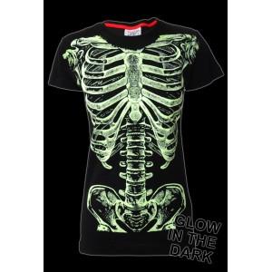 T-shirt Darkside - Top Ribs - Femme