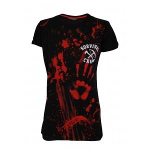 T-shirt Darkside - Zombie Killer - Femme