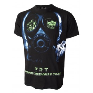 T-shirt Darkside - Zombie Face Mask