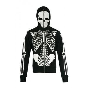Sweat Zippé Jawbreaker - Skeleton