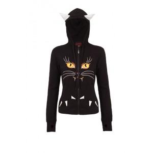 Sweat Zippé Jawbreaker - Black Panther - Femme