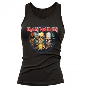 T-shirt Iron Maiden - Top Evolution - Femme