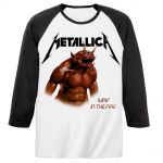 T-shirt Manches Longues Metallica - Jump In The Fire Baseball