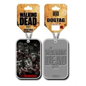 Pendentif Dog Tag The Walking Dead - Zombies
