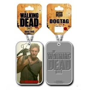 Pendentif Dog Tag The Walking Dead - Daryl