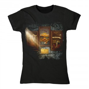 T-shirt Opeth - Communion Album - Femme