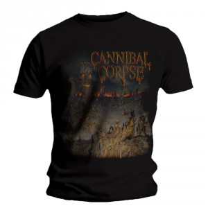 T-shirt Cannibal Corpse - A Skeletal Domain 1