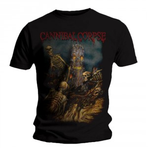 T-shirt Cannibal Corpse - A Skeletal Domain 4