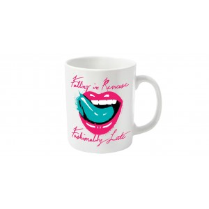 Mug Falling in Revers - Lips