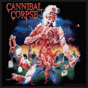 Patch Cannibal Corpse - Eaten Back To Life