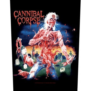 Back Patch Cannibal Corpse - Eaten Back To Life