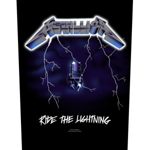 Back Patch Metallica - Ride The Lightning