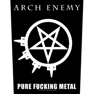 Back Patch Arch Enemy - Pure Fucking Metal
