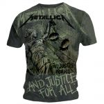 T-shirt Metallica - Justice Neon Allover