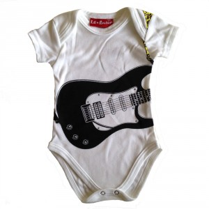 Body Guitar White