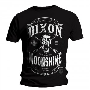 T-shirt The Walking Dead - Moonshine